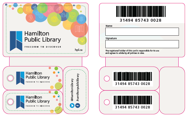 New HPL cards