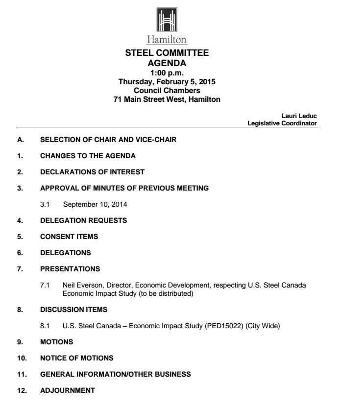 Steel_Cmte_Agenda_Feb_5_2015